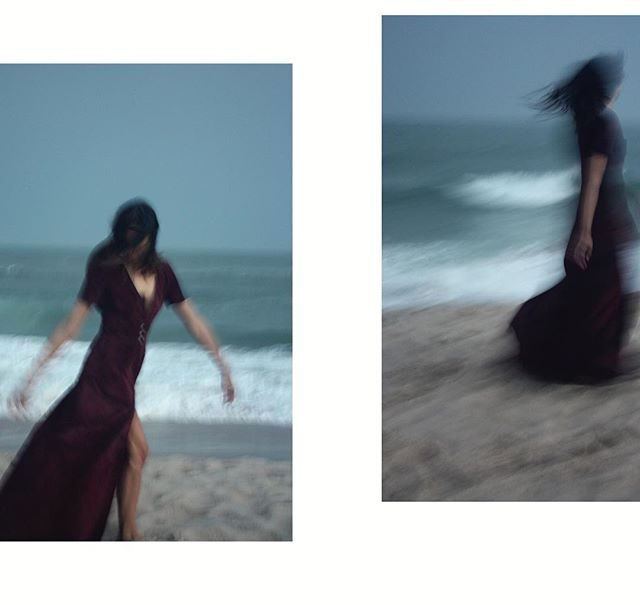 NIGHTLIGHTS (2/6) #Free and #Fluid She's carried by the wind and called to the sea.  #Laviano #CoutureAfterDark #NuCouture