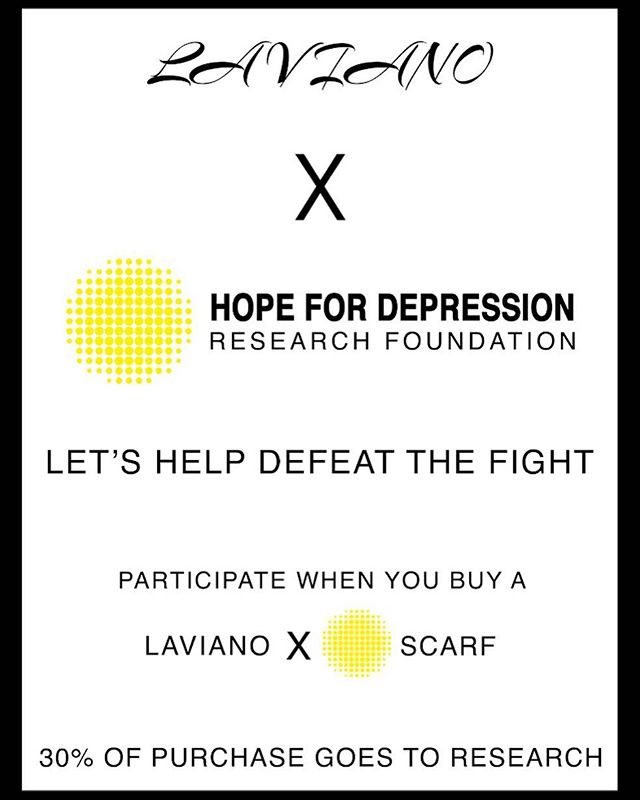Kicking off our SCARF CAMPAIGN with @hope_hdrf 5K marathon tomorrow morning at 9am in Southampton. Help support suicide prevention with one of our scarves. 30% of proceeds will go to the Hope for Depression Research Foundation.  #suicideprevention #campaign #southampton #hopefordepressionresearchfoundation