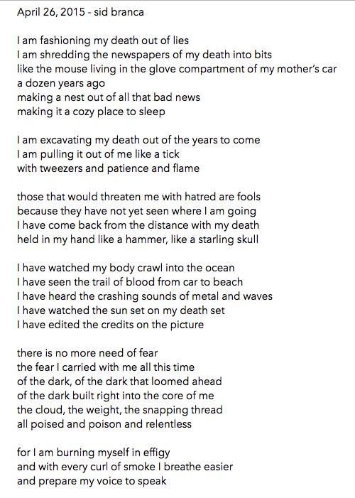 manymistypes :     April 26, 2015 -  sidbranca  /  thisbedisaship      ~*~on creating personas designed for ego-death~*~