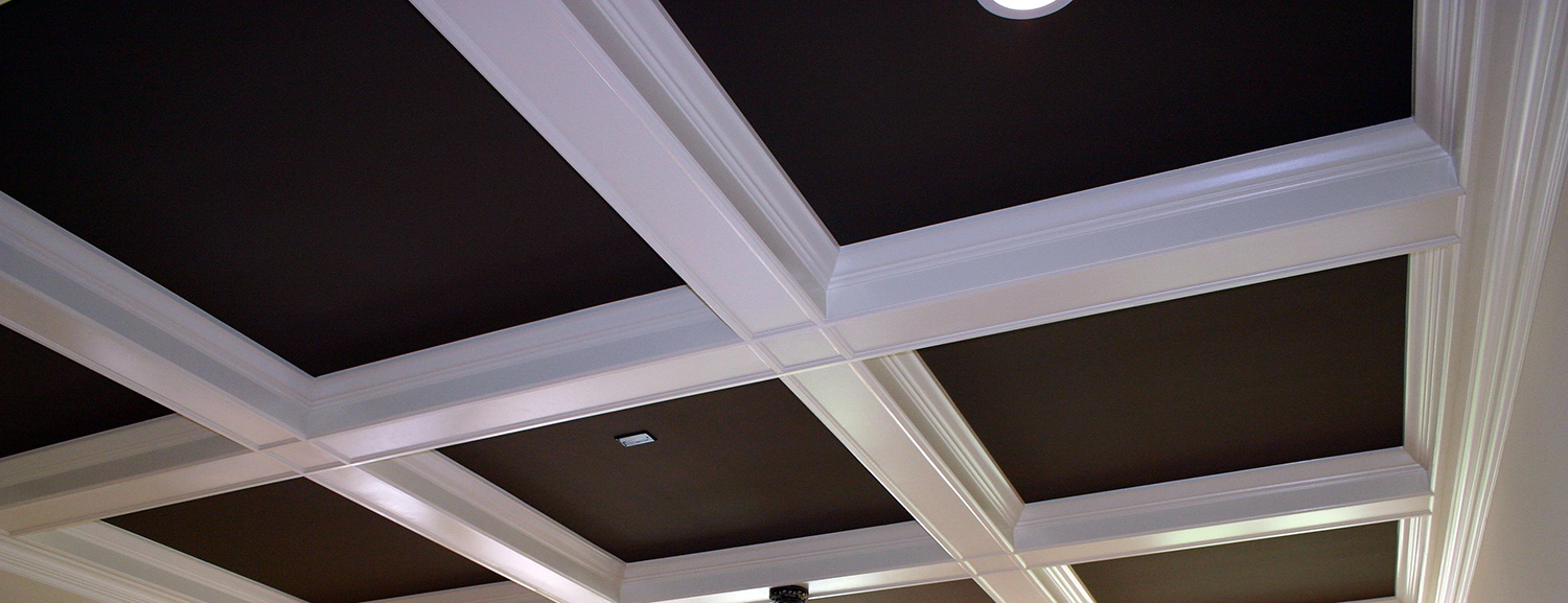 Coffered Tray Ceilings Millwork Design Solutions