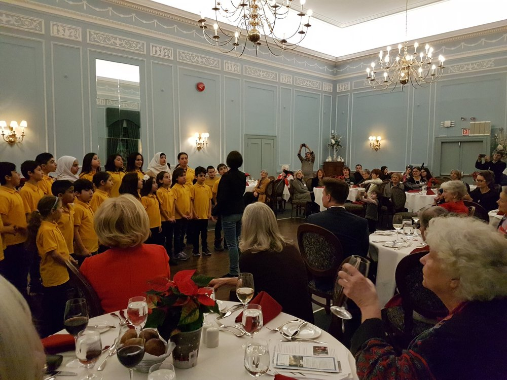 Dec 12 2017, Holiday Party of University Women's Club at UofT