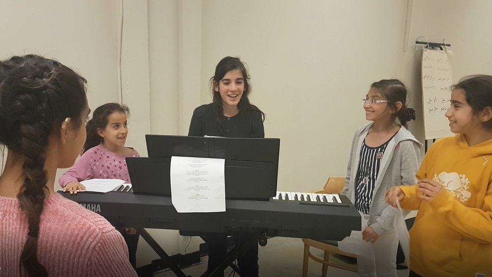 Vocal teacher and music director Alondra brought so much energy and professionalism to the Choir