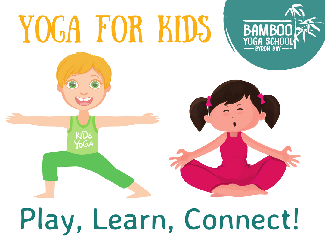 Kids Yoga Play Bamboo Yoga School Byron Bay