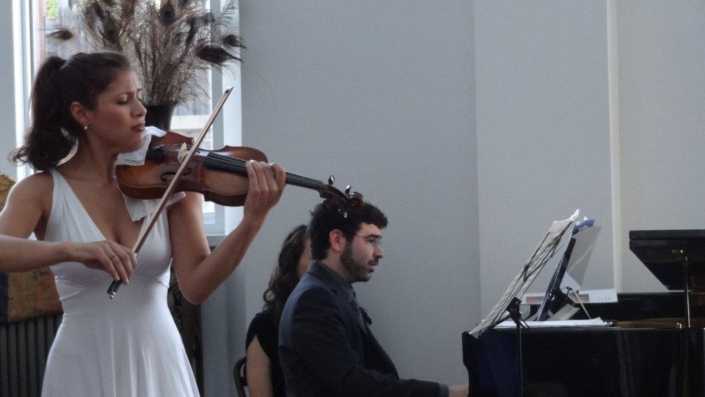Elena Urioste, violin and Michael Brown, piano