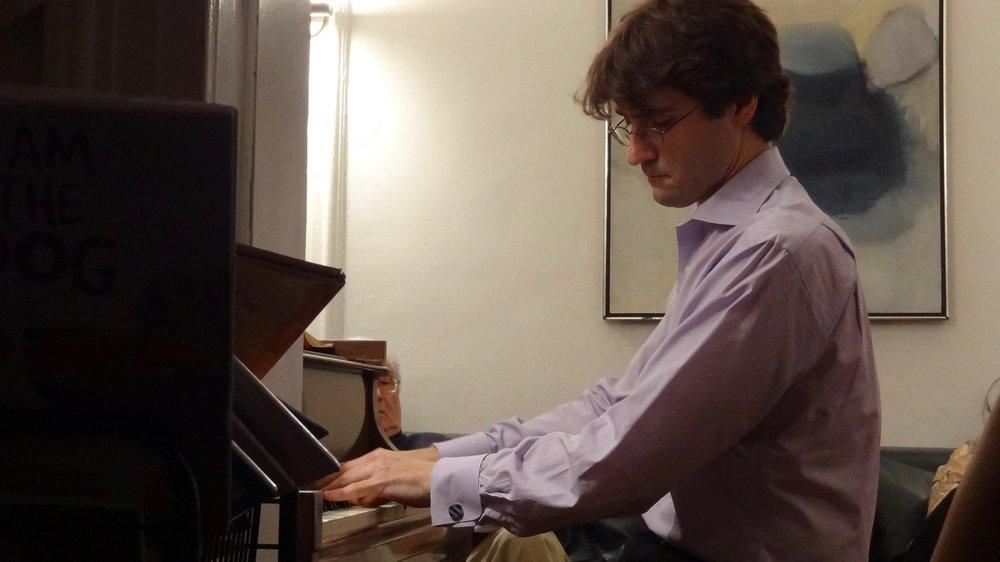 David Kaplan, piano