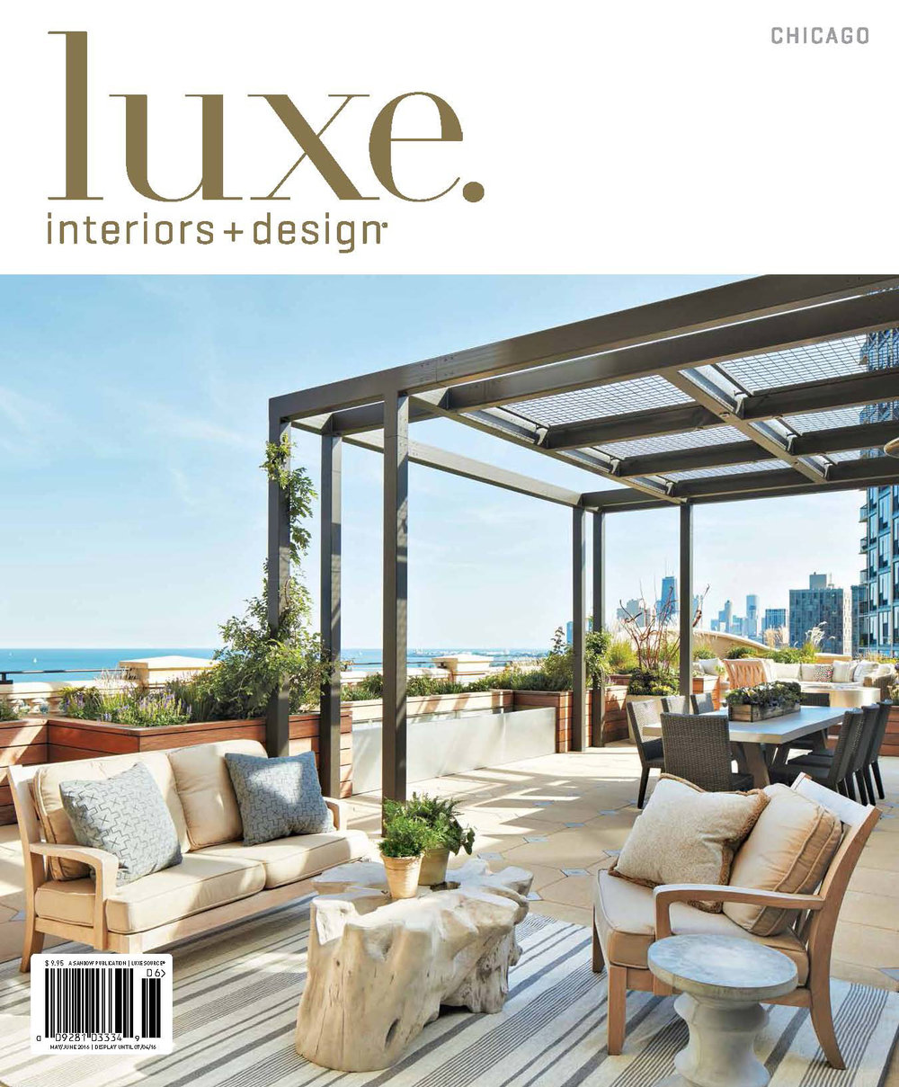 Interior Design: Bruce Fox, Inc.  luxe interios + design, april 2015  upholstery, throw pillows & window treatments throughout
