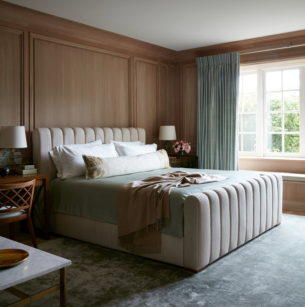 window treatments & custom upholstery Interior Design: Atelier AM | Interior Architecture : Marvin Herman & Associates