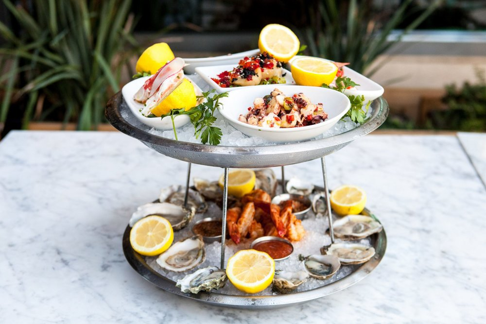 Herringbone - Seafood Tower - Photo Credit - Marie Buck