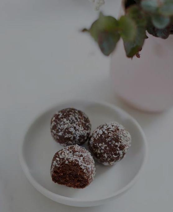 Carob & Coconut - Bliss Balls