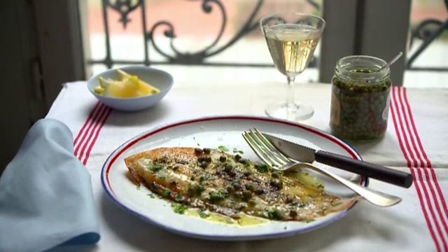 Pan-fried sole recipe - The Little Paris Kitchen: Cooking with Rachel Khoo