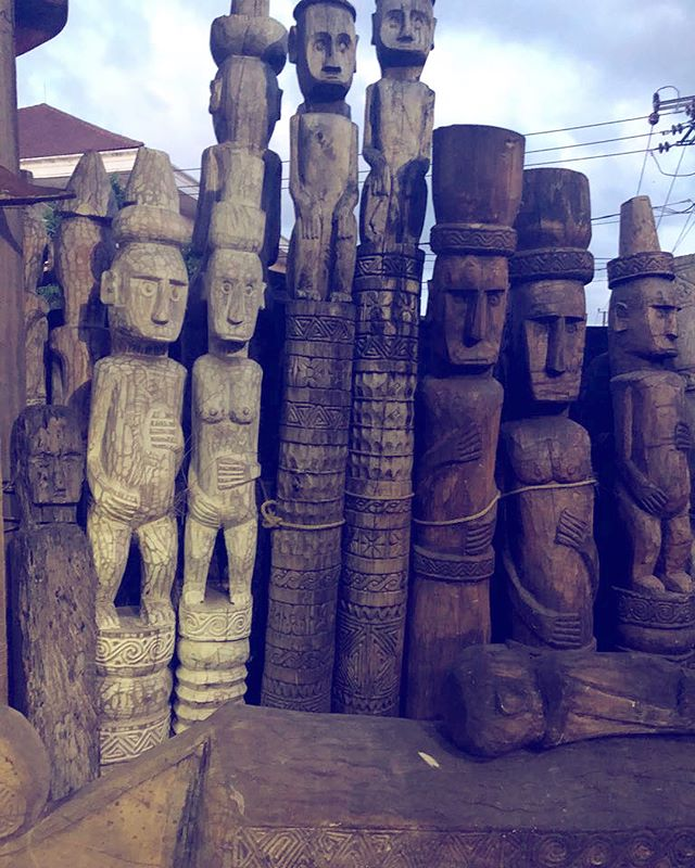 Crafts and Arts of Indonesia. . . . #art #sculptures #masks #housetopping #housedecoration #design #beautiful #crafts #beautifulindonesia #studiojantzen #balisabbatical
