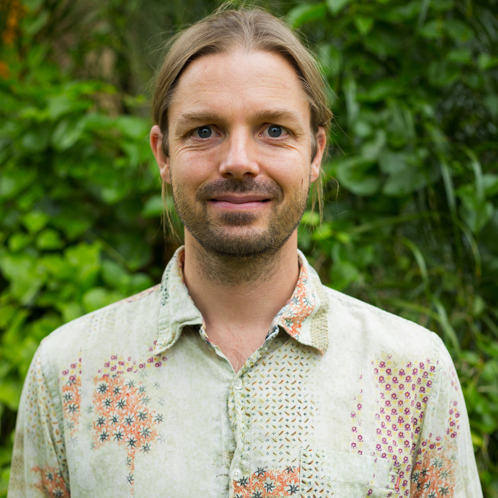Peter Birkkjaer  | Master Herbalist  In 2007, Peter moved to Bangalow and opened Herbal Wisdom. He is now a well-known (and well-loved!) local, with two beautiful children. In his consultations, Peter uses iridology, rayid, pulse and tongue diagnosis to help him determine the overall state of health for the individual. He expertly uses herbs, flower essences, nutrition and intuition to bring upon a shift in health, one step at a time.  Peter has successfully used herbs and nutrition to help hundreds of clients over the years with digestive issues, skin conditions, cardiovascular problems , general dietary advice, hormonal balancing, improving mental states as well as supporting those with HIV and cancer. He is able to work alongside medical professionals to find the best course of healing for an individual.