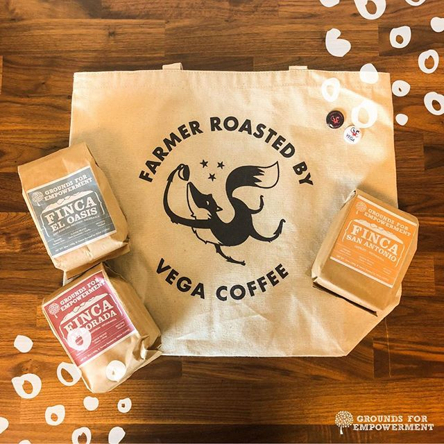 Here at Grounds for Empowerment, we're grateful for the opportunity to showcase each of our Farmers' coffees. Our roasting partner, Vega Coffee, delivers their coffees freshly roasted at origin right to your door. 🌱 📦 ☕️   TODAY is the last day to order and ensure a delivery by Dec 25th 🎁  Check out our coffees via the link in our bio!  GFE coffee makes a great gift or addition to your holiday beverages - not to mention, the awesome stories and conversations that are often inspired by the work our farmers do.   #womenincoffee #gfempowerment #vegacoffee #specialtycoffee