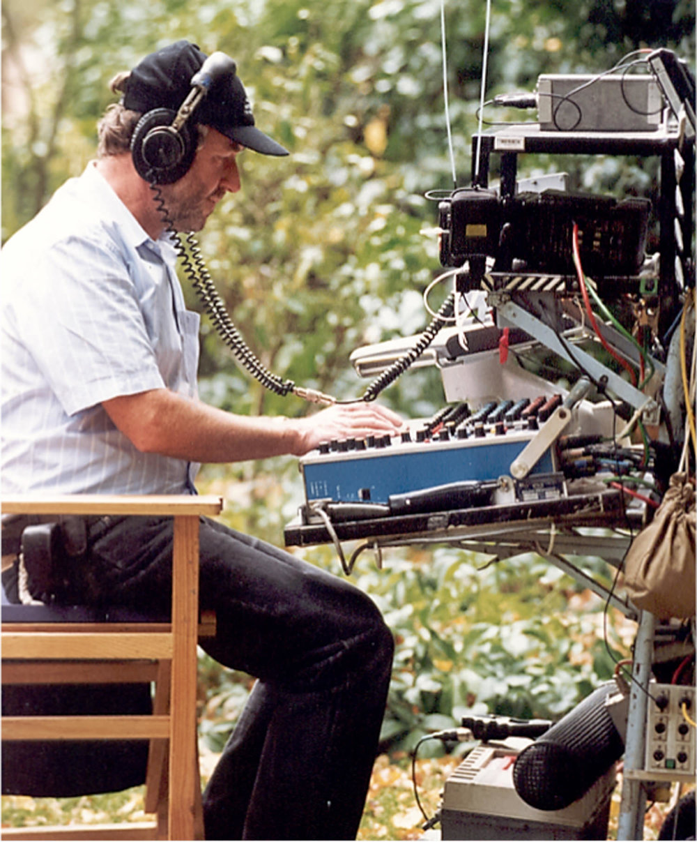 Recording Kangaroo Jack 2003 in Sydney again on the Audio developments Mixer and Fostex PD-2. The technology mounted on the sound cart would be modified according to the requirements of the job.