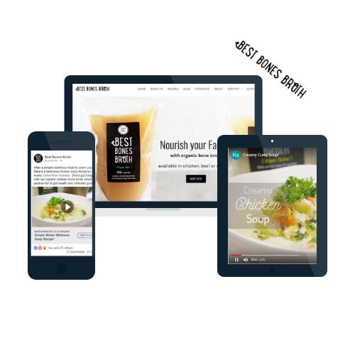 Food businesses digital marketing nz