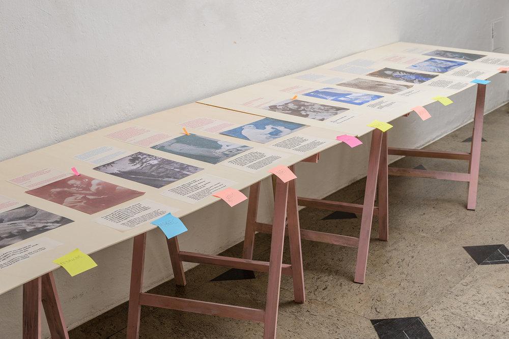 Sofija , collage, 2016, exhibition view photos: Peter Škrlep