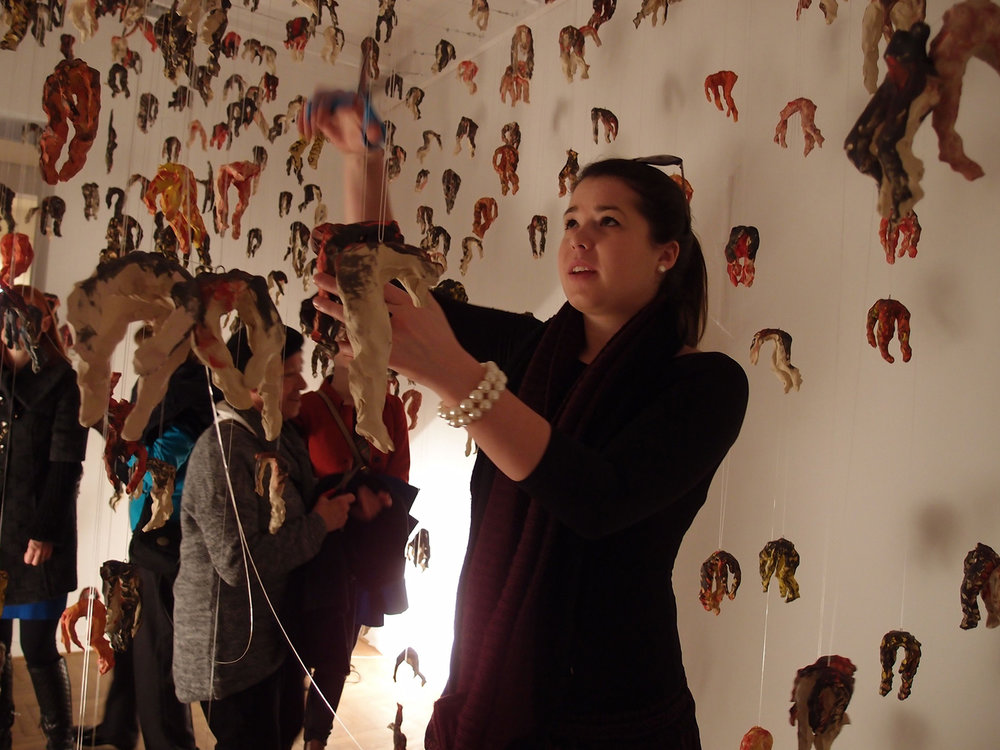 Ode to Powerlessness , 2014/2015, Installation with participative closing performance, production: Ljubljana City Gallery, installation photos: Matevž Paternoster, performance photos: Vera Stanković