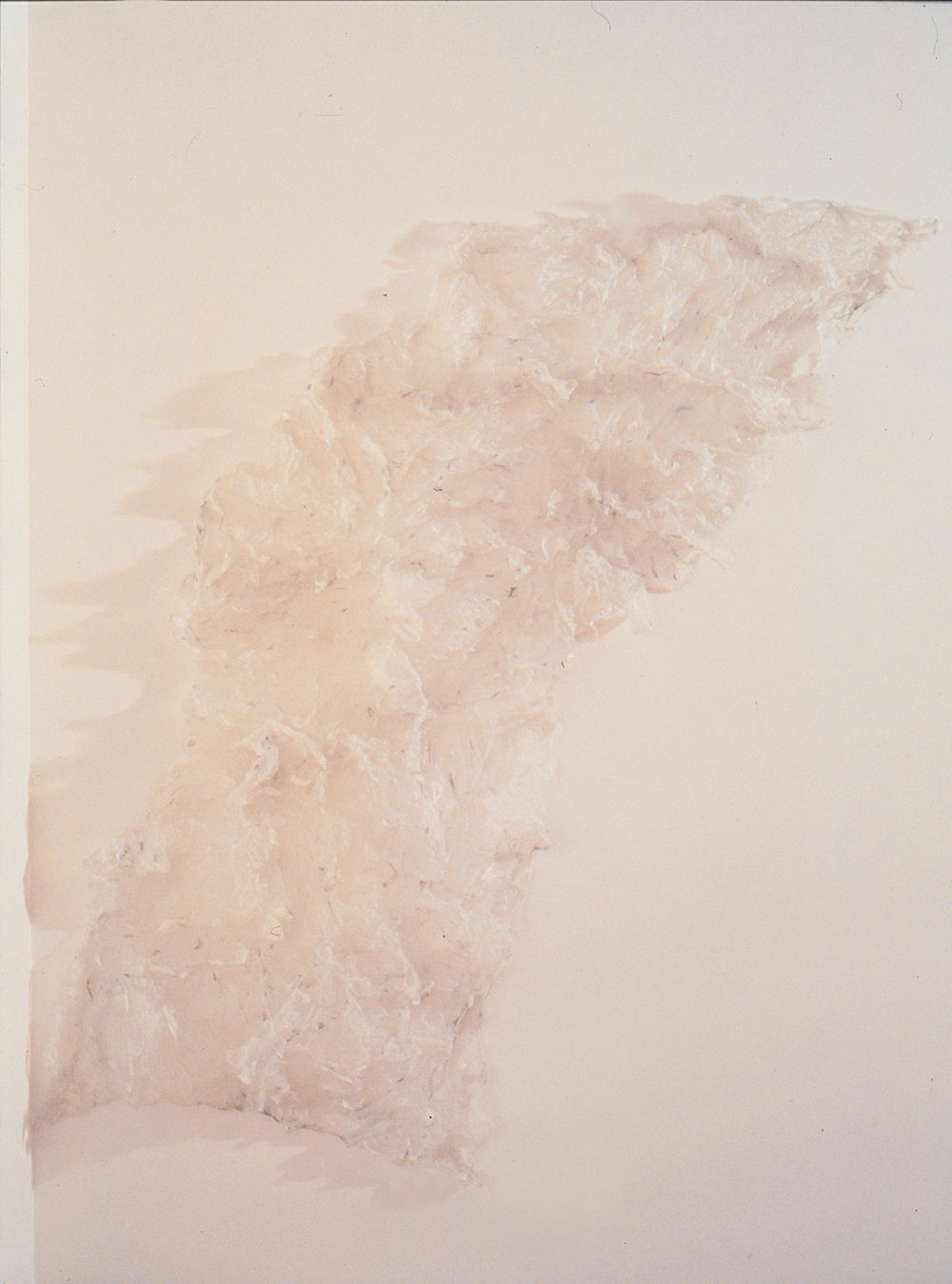 White Wing,  object (plastic bags. fire), 1999