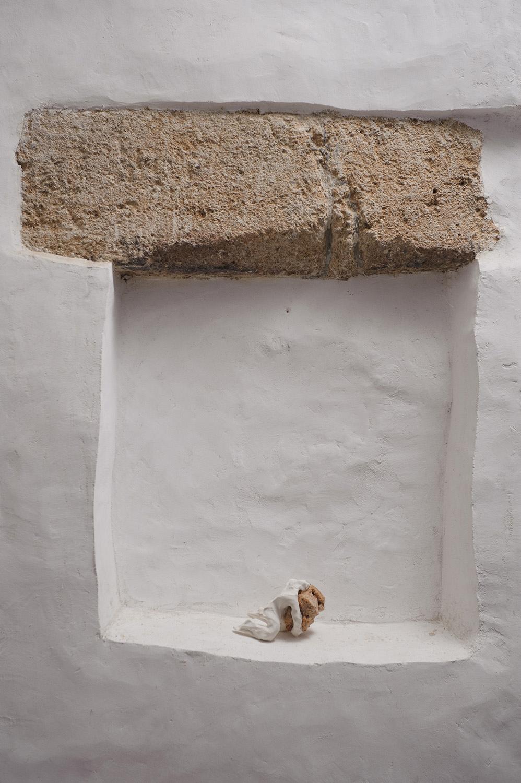 I Bake Bread That Cannot Be Eaten , 2012, installation, photos: Peter Škrlep