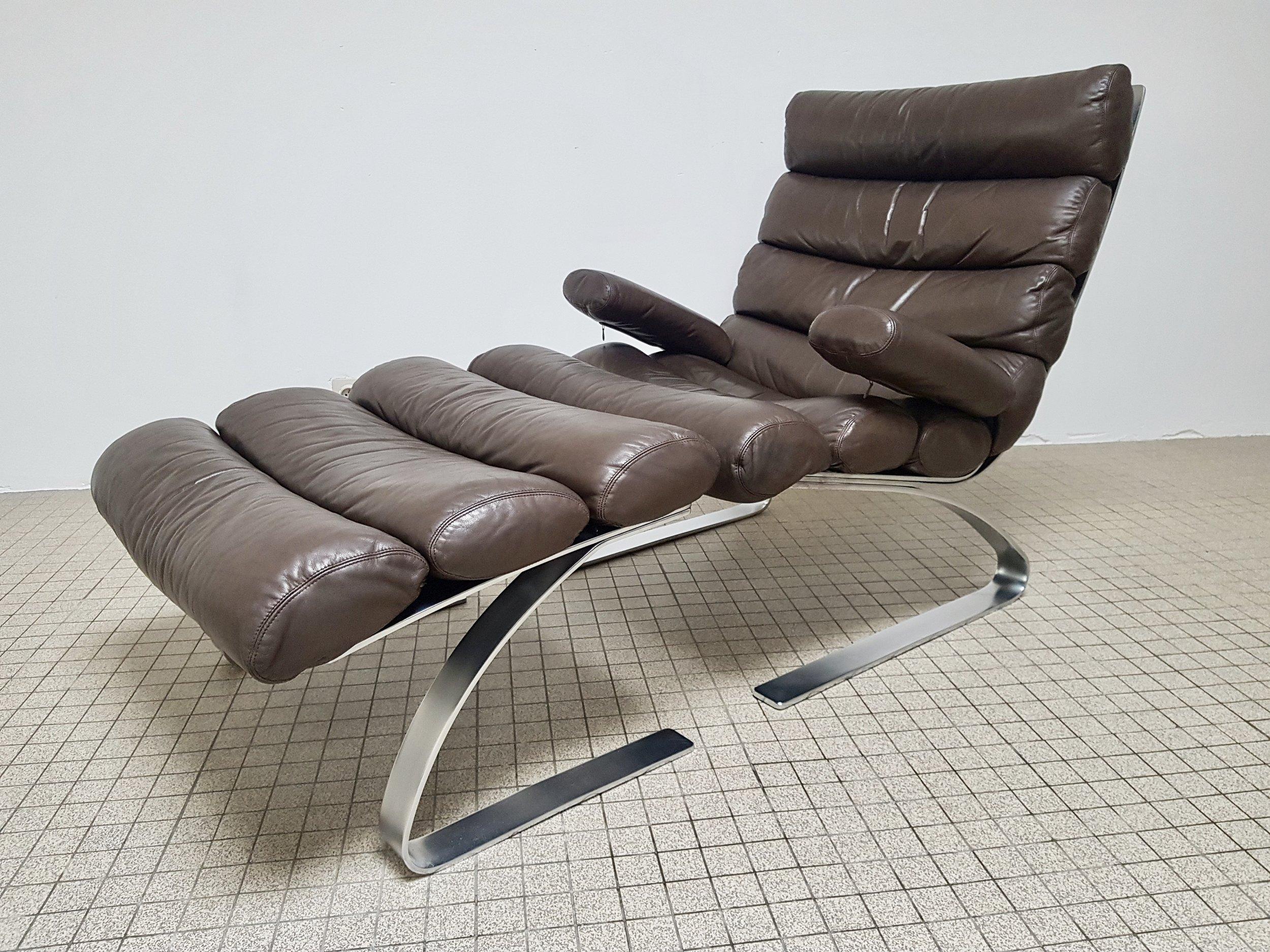 Fantastic Sold Cor Sinus Lounge Chair Ottoman Vintage Design Ibusinesslaw Wood Chair Design Ideas Ibusinesslaworg