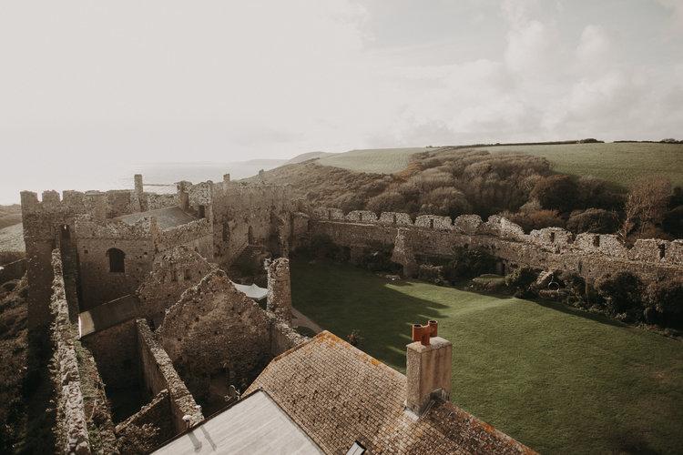 Manorbier Castle Tenby