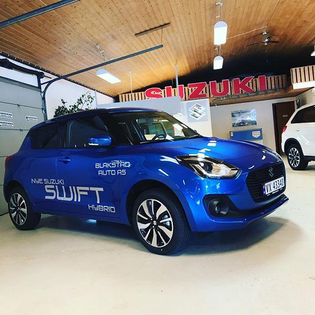 Da har vi fått på ny reklame på Swift Hybrid! Må si at resultatet ble bra! :)