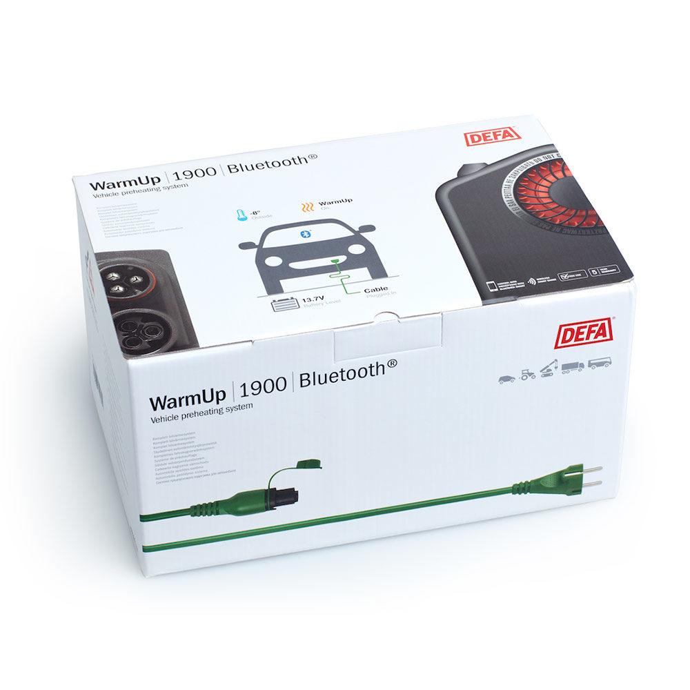 DEFA bilvarmer - DEFA WarmUp kit med Bluetooth eller tidsur, inkludert montering. Kan også kombineres med motorvarmer og/eller batterilader.Verdi: kr. 11.054,-