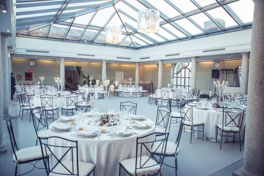 Salón de Fuentetena. Aldovea Catering