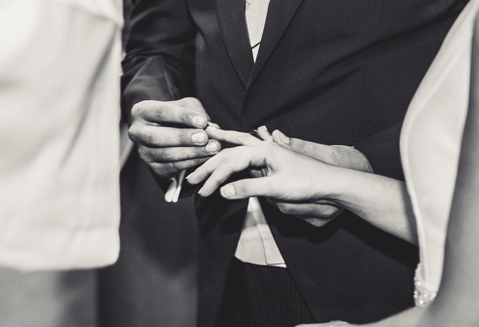 detalle anillos de boda