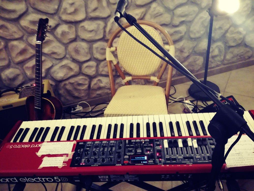 - the keyboard
