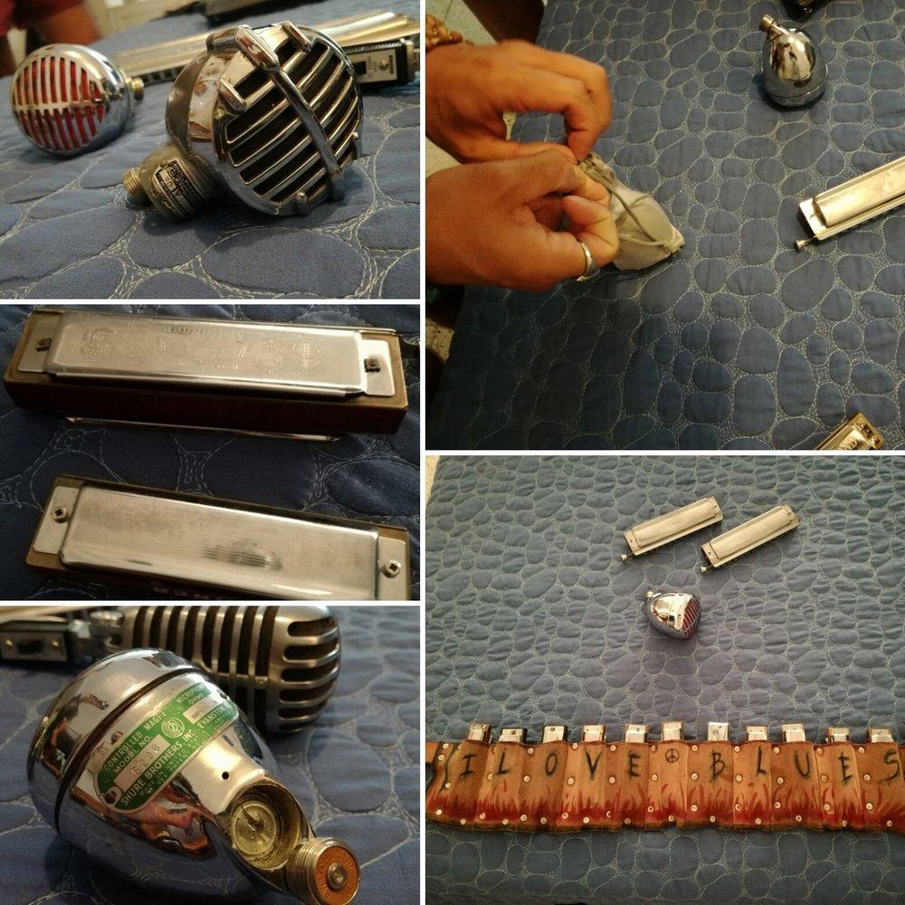 - Giorgio's harps & microphones Astatic JT30, Green Bullet