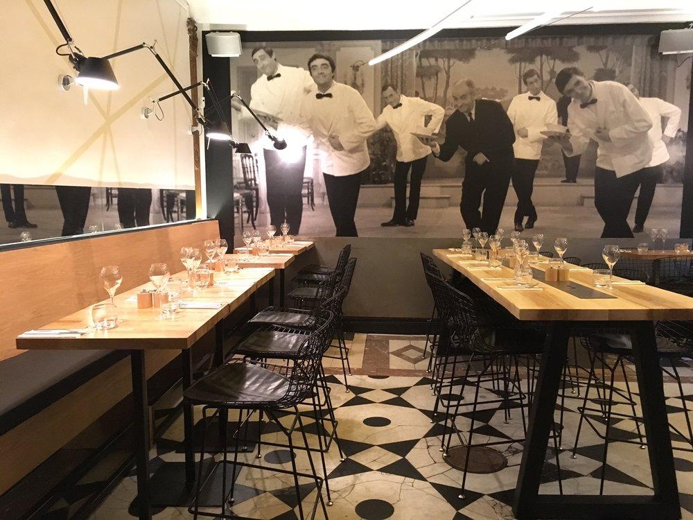 Les restaurants -