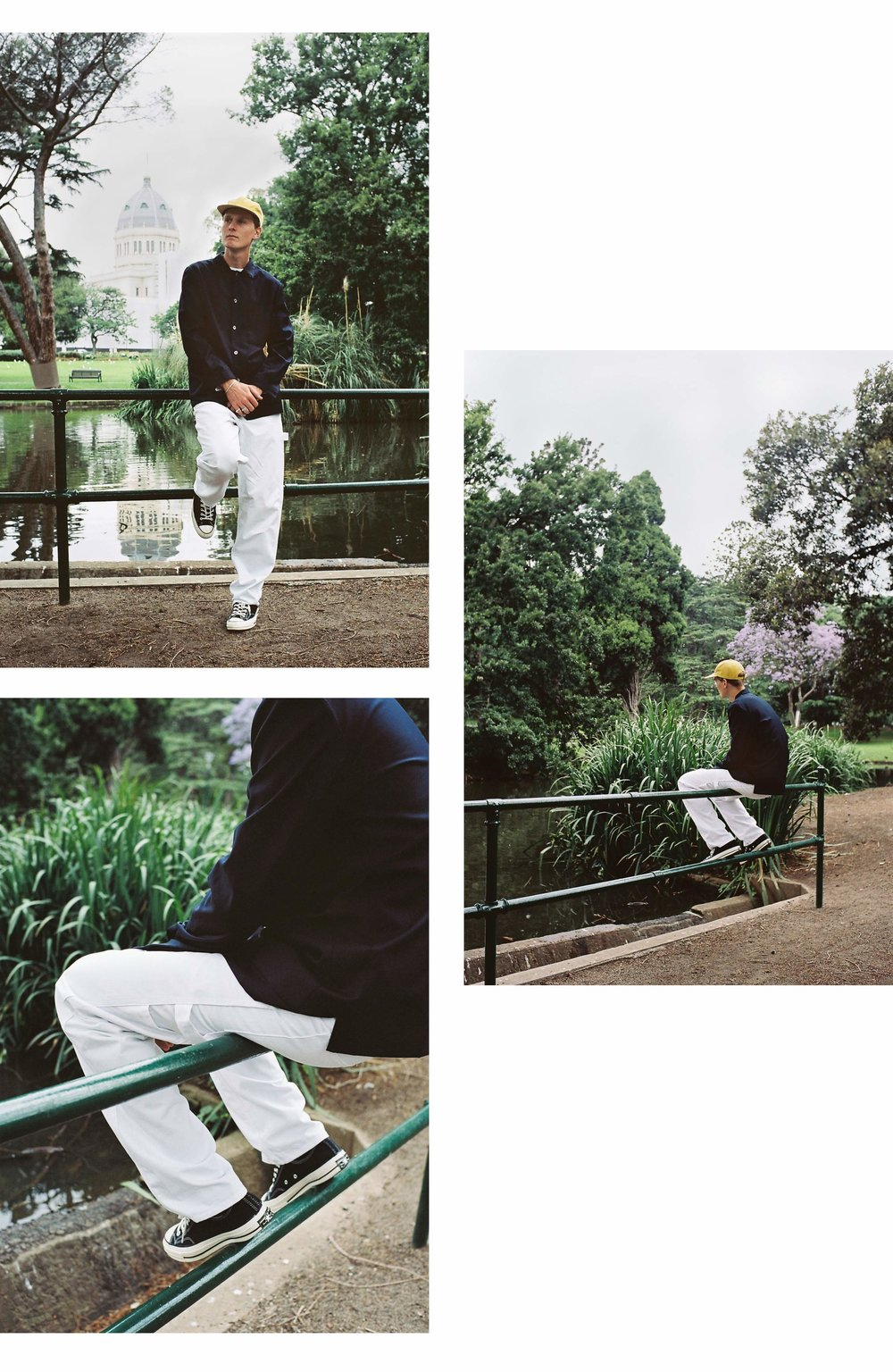 Stan Ray December Editorial White Painter Pants