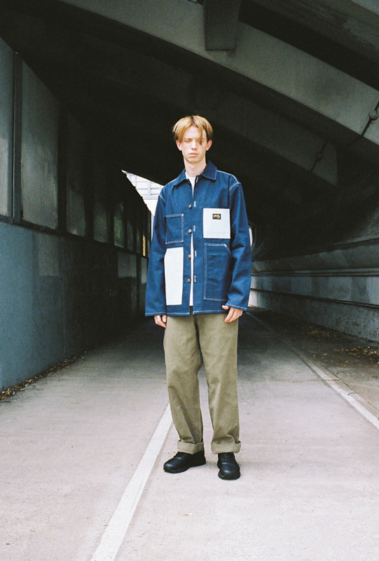 Stan Ray Shop Jacket Contrast Pocket Sailor Pant
