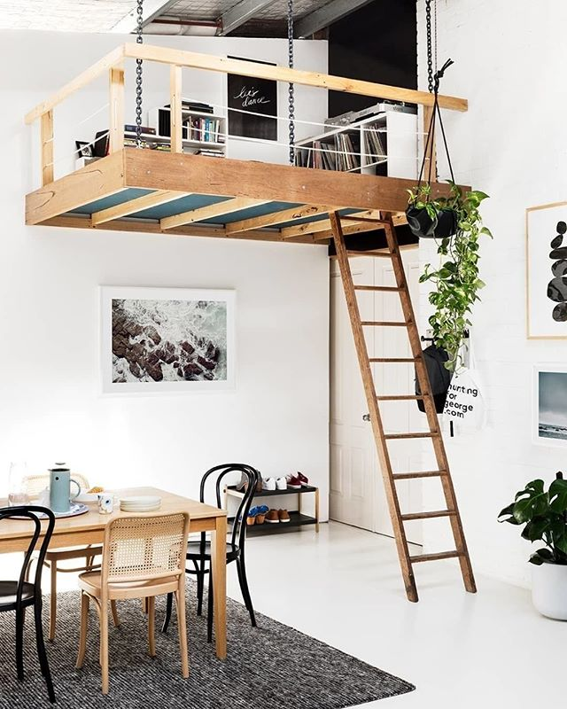Hello, loft goals 😍 Photo by @gemmola #homestorydesigns