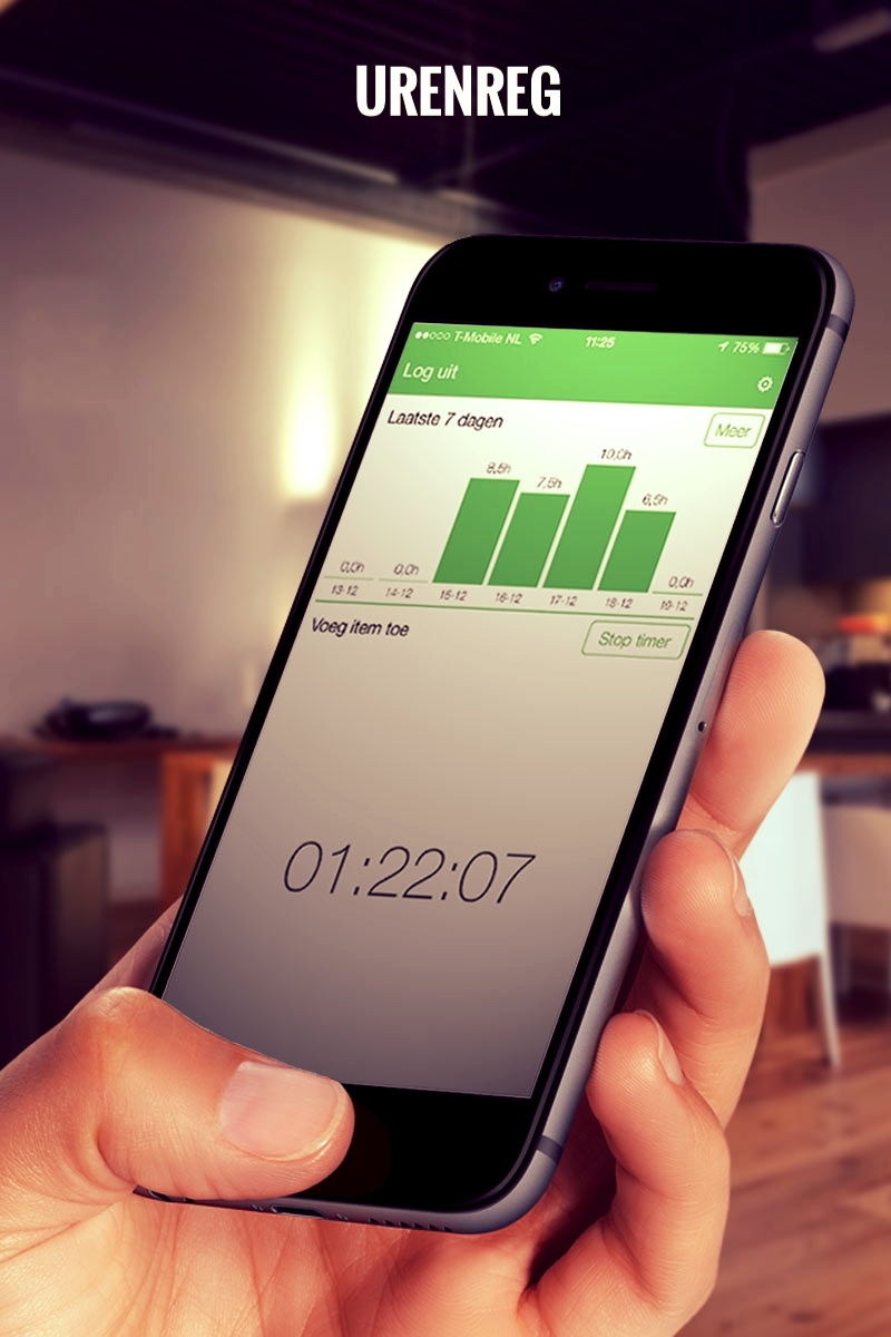 The ideal app for anyone that works across multiple projects or keeps irregular working hours, TimeRegPLUS is your perfect companion. Work-time registration is made convenient and simple without the need for additional administration or calculations.  It is no longer a chore to repeatedly account for hours worked on projects or relations, and with automatic document backups you will never lose or misplace your important data. With TimeRegPLUS you only need to add a contact (or multiple relations at the same time) to your iPhone/Android device once.