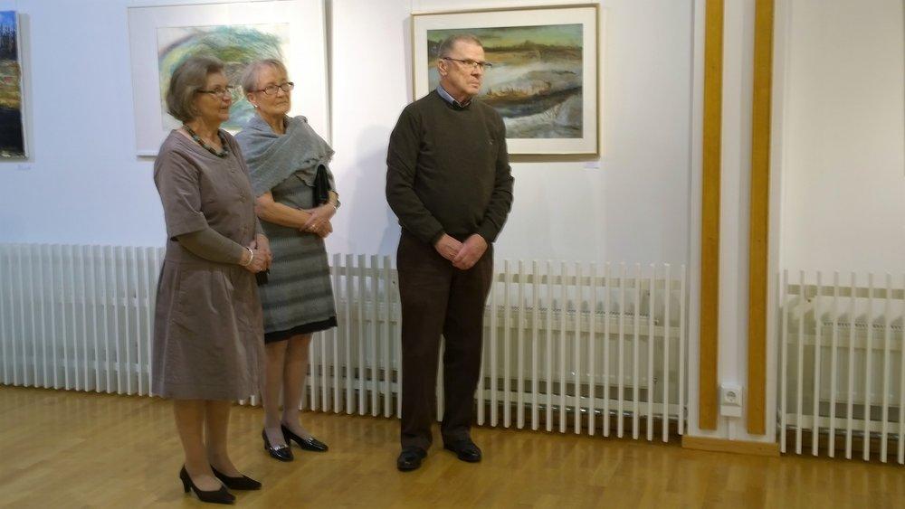 Ulla Mansikka, Aino Kuusela, Heikki Mansikka