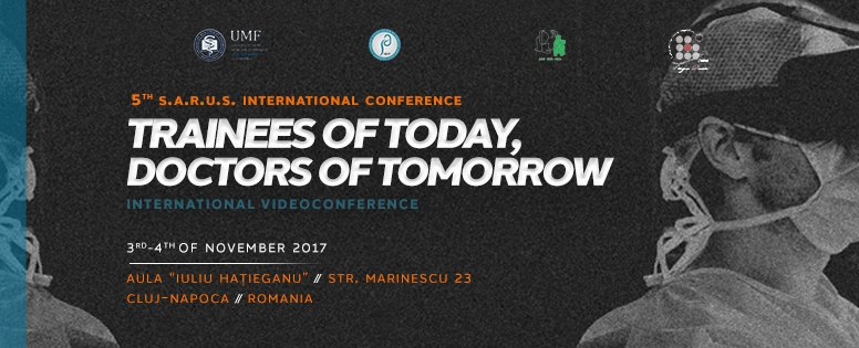 5th International SARUS Conference   November 3rd - November 4th         Credits: 22140924_2397220373835763_7432704247923381135_n.jpg