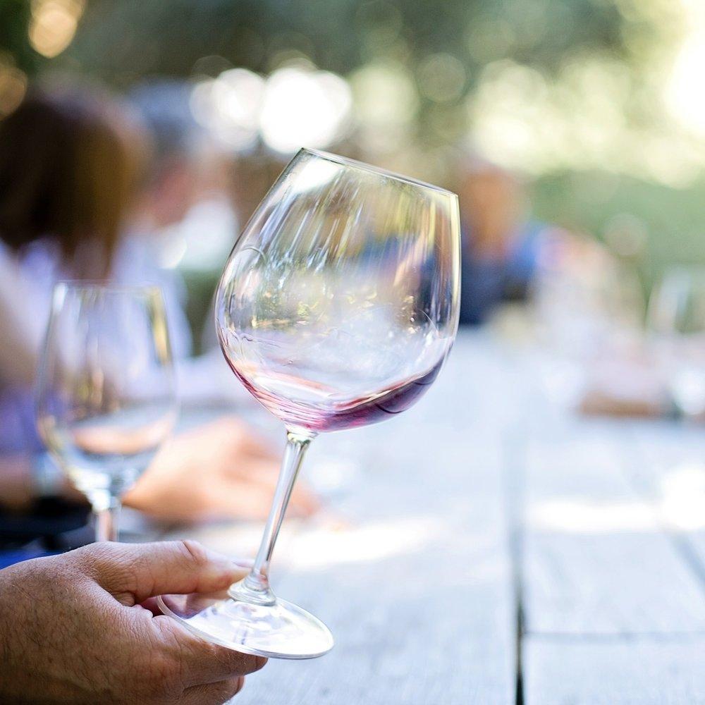 Wine Tasting, Figs . .