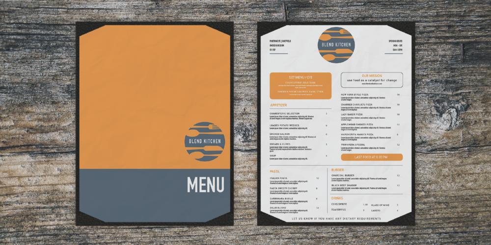 blend-kitchen-portfolio-menus-branding-nifty-fox-creative-sheffield