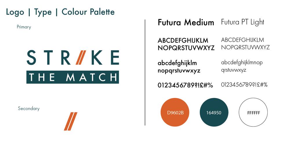 strike-the-match-portfolio-branding-logo-nifty-fox-creative-sheffield