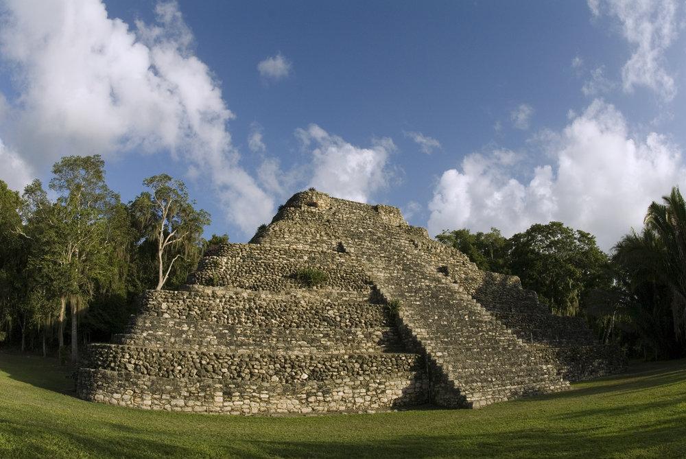mayan ruins-costa maya