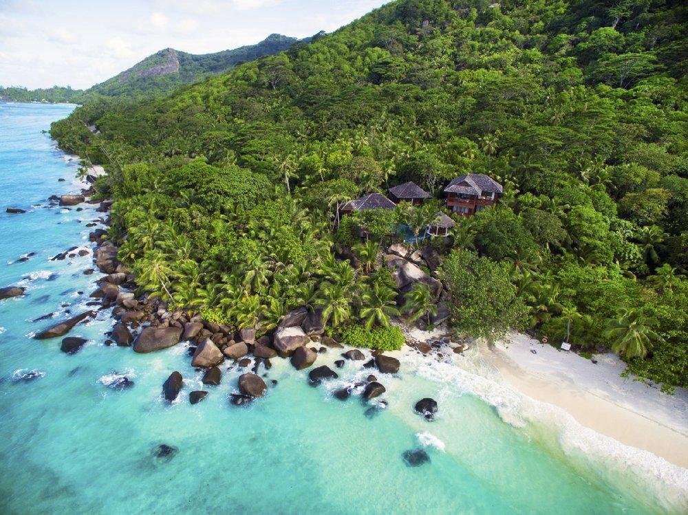 Hilton Seychelles Labriz Resort exterior view