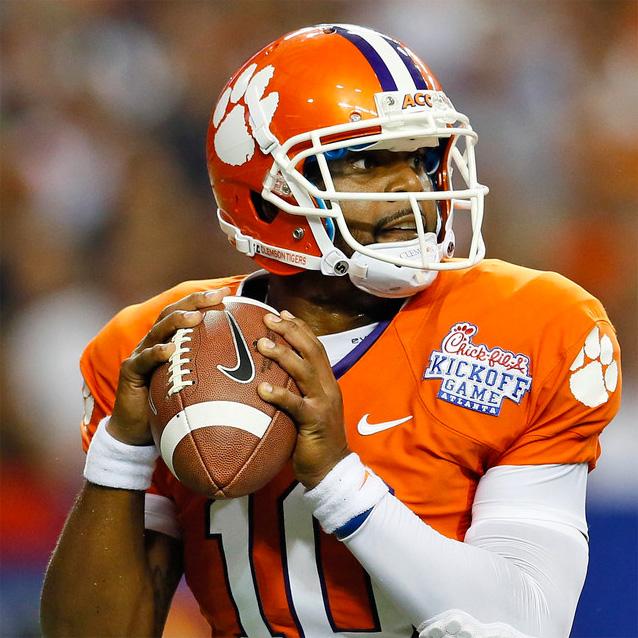 Tajh Boyd<strong>Former Clemson Quarterback</strong>
