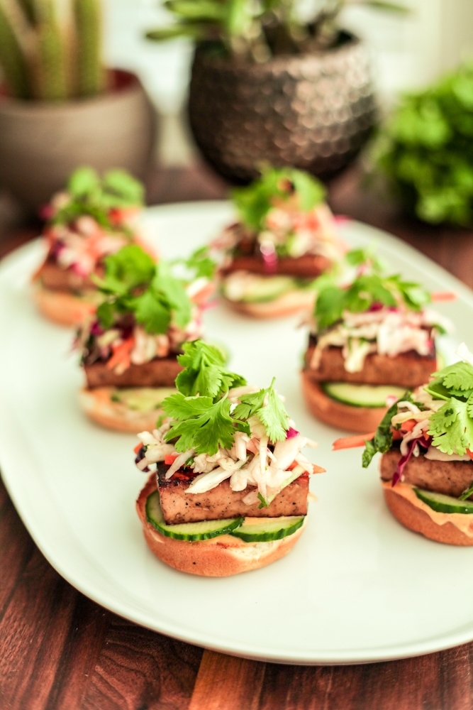 banh mi sliders VEGG