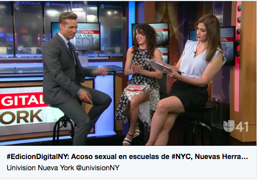 Univision Tiny New York Spanish edition