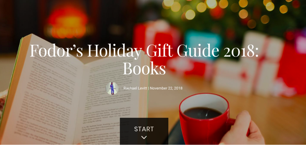 "TINY New York Made Fodor's Holiday Gift Guide for the best travel books of 2018. Here's their review: An ""undersized coffee table book about the smallest things in the biggest city,"" this adorable and surprisingly substantial book may have actually found an undiscovered angle of New York."