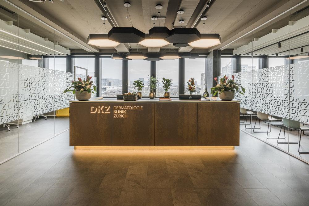 Dermatologie Klinik Zürich - Empfang