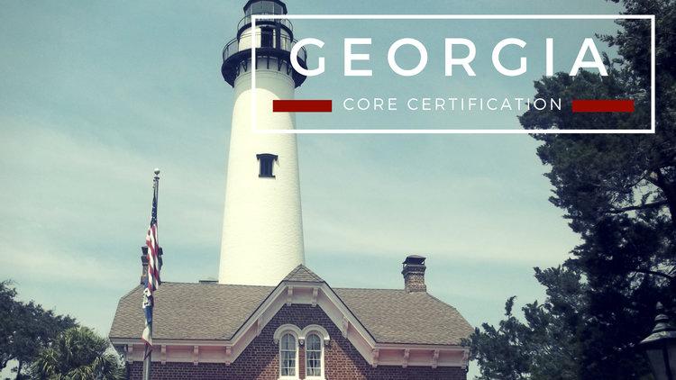 Georgia Core Certification — Jane Jitsu