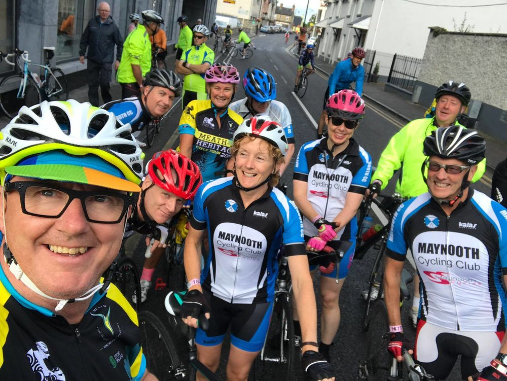 Maynooth Cycling Club - Established on the 19th of December 2015.The club caters for cyclists of all levels from beginners up to seasoned pros.Maynooth Cycles Is Proud to be the Club Sponsor and Base for all Spins.For more information check out their facebook page here